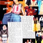 Elle (Australia) chanel fashion show kristen scan