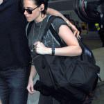 Kristen Stewart Touches Down At LAX